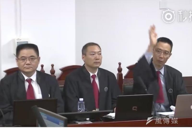 中國指派給李明哲的律師張忠偉。(取自官方微博)