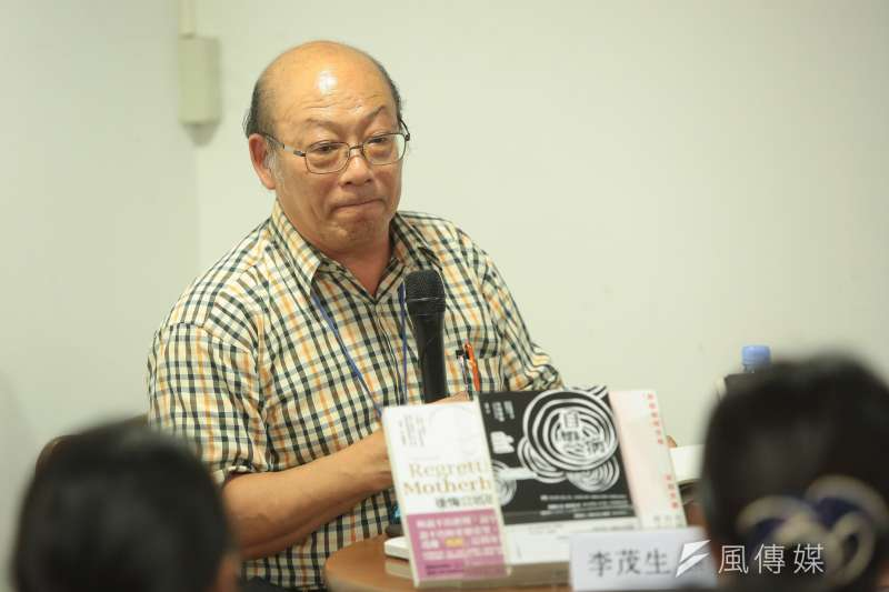 20170915-台大法律系教授李茂生15日出席為什麼會《教出殺人犯》?新書分享會。(顏麟宇攝)