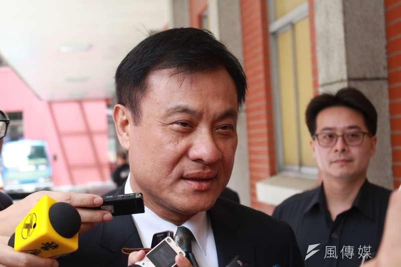 立法院長蘇嘉全15日表示,將於21日召集黨團協商,22日正式開議。(方炳超攝)