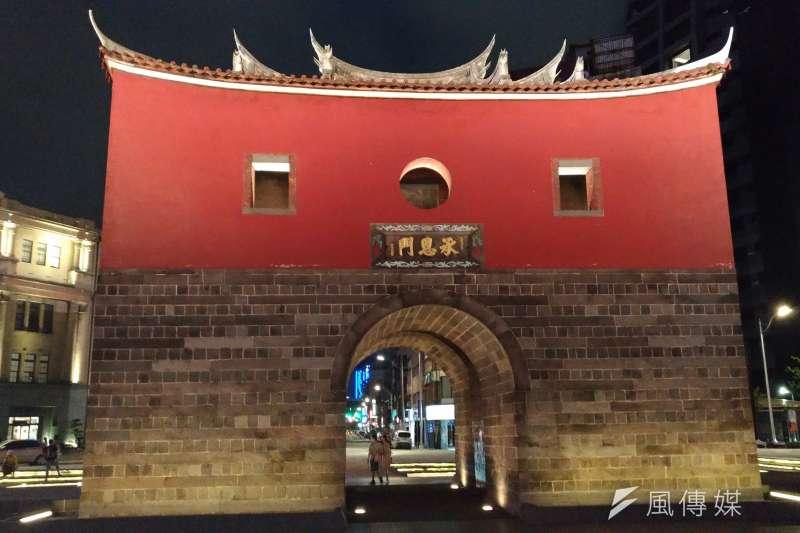台北市最著名的古蹟之一,承恩門(北門)(風傳媒)