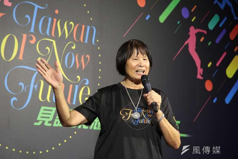 東奧發起人之一的紀政當年也是奔走確定「中華台北」(奧會模式)的人士之一,不退出國際奧會是她的主張。(顏麟宇攝)