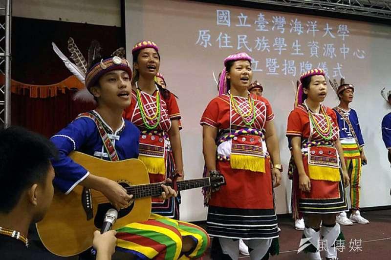 海大推廣原住民文化,協助原住民學生整合各項資源。(圖/張毅攝)