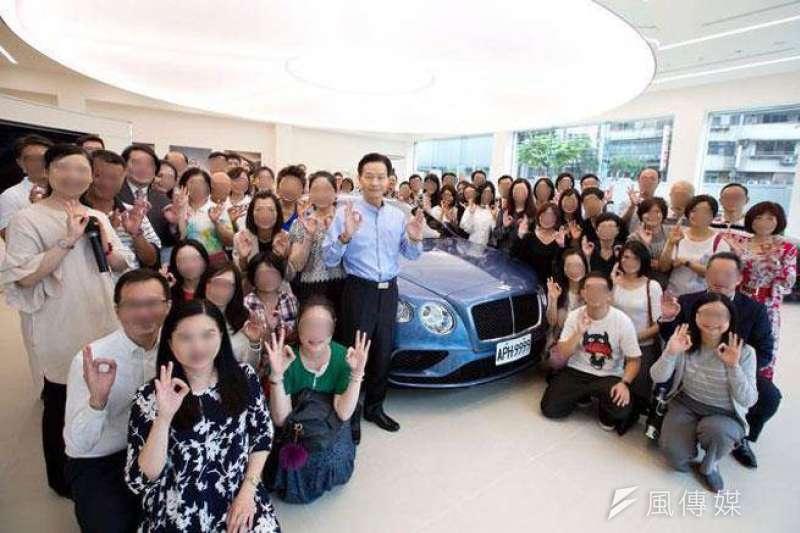 妙禪近日因為接受弟子捐贈的豪華名車,引發爭議。(取自網路)
