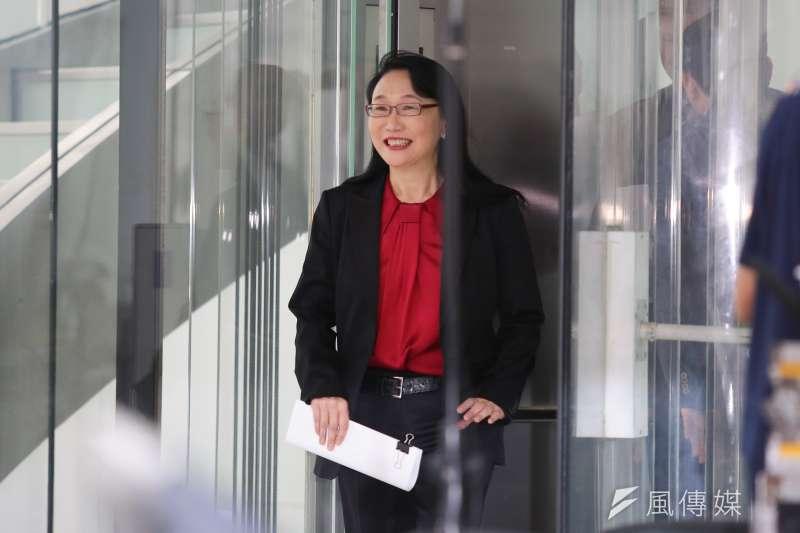 20170921-HTC宏達電董事長兼執行長王雪紅21日宣布以新台幣330億元的金額,出售手機代工部門給Google。(顏麟宇攝)