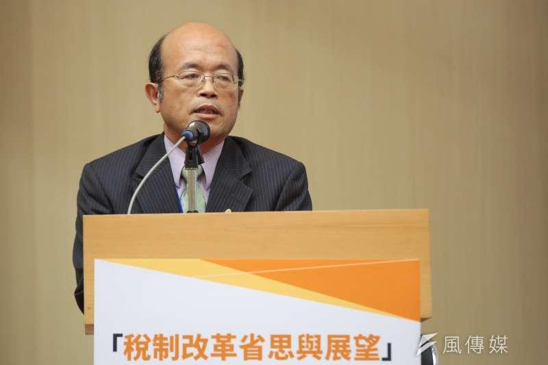 20170922-台灣金融研訓院長黃博怡22日出席「稅制改革省思與展望」座談會。(顏麟宇攝)