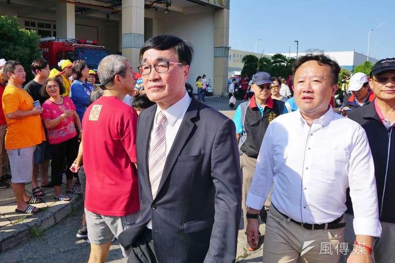 高雄市副市長人選確定將由現任新北市副市長李四川出任。(資料照,盧逸峰攝)