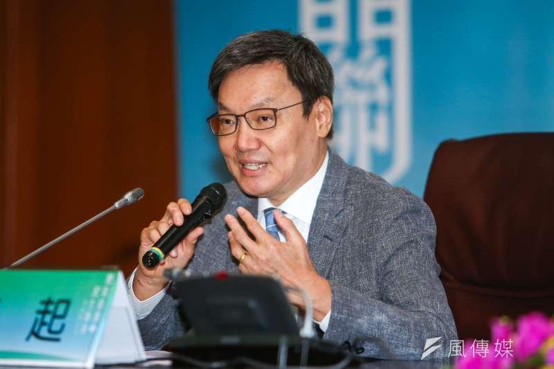 20170924-「總統直選與民主台灣」學術研討會,第五場,主講人:蘇起(前國安會秘書長)。(陳明仁攝)