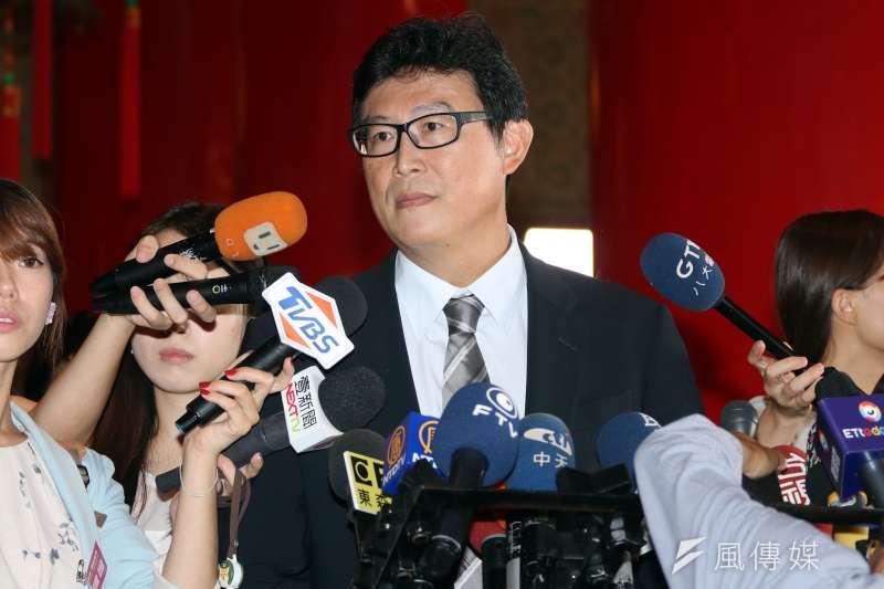 民進黨立委姚文智回應國民黨立委蔣萬安不選問題。(資料照片,蘇仲泓攝)