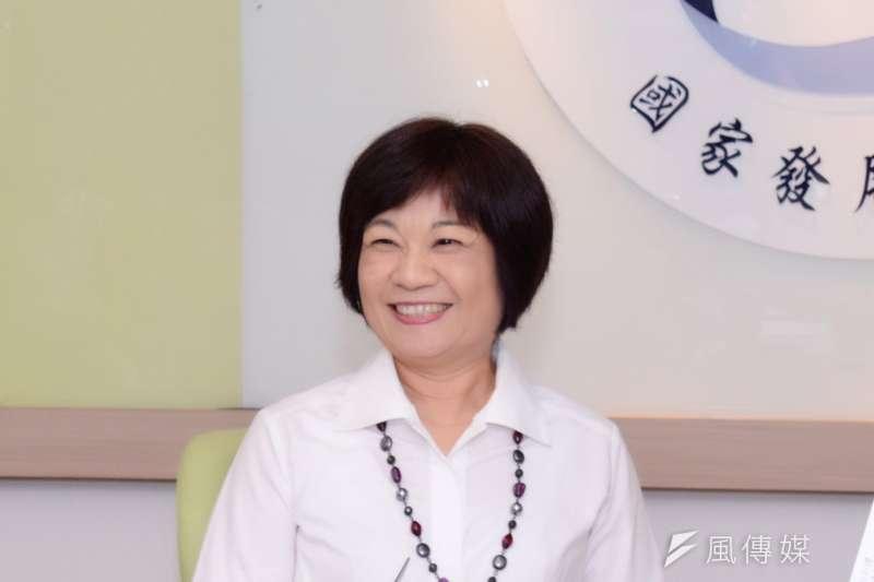 國發會主委陳美伶。(資料照片,黃天如攝)
