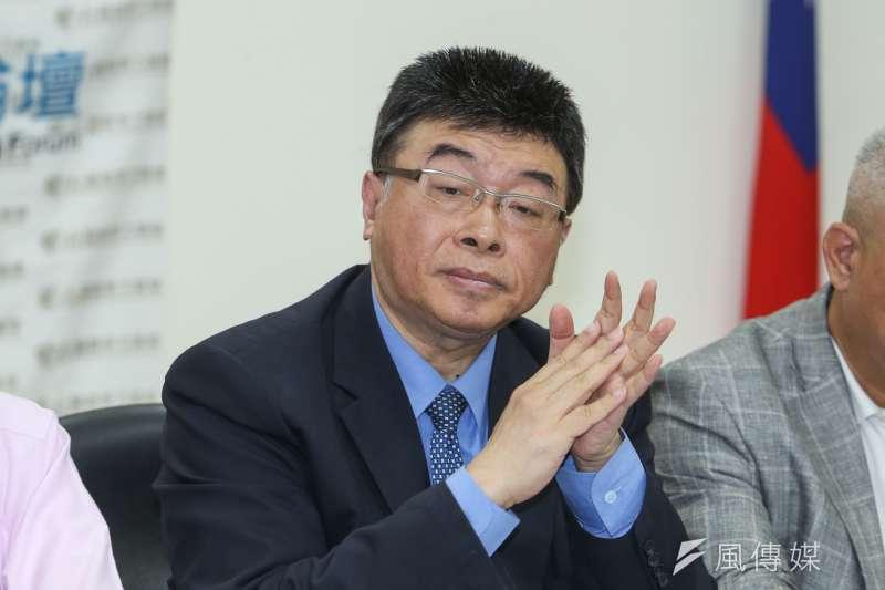 前立委邱毅遭控誹謗陳菊,高雄高分院8日判決無罪定讞。(資料照,陳明仁攝)