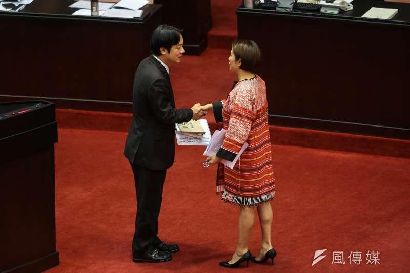 20170929-無黨籍立委高金素梅29日於立院質詢。(顏麟宇攝)