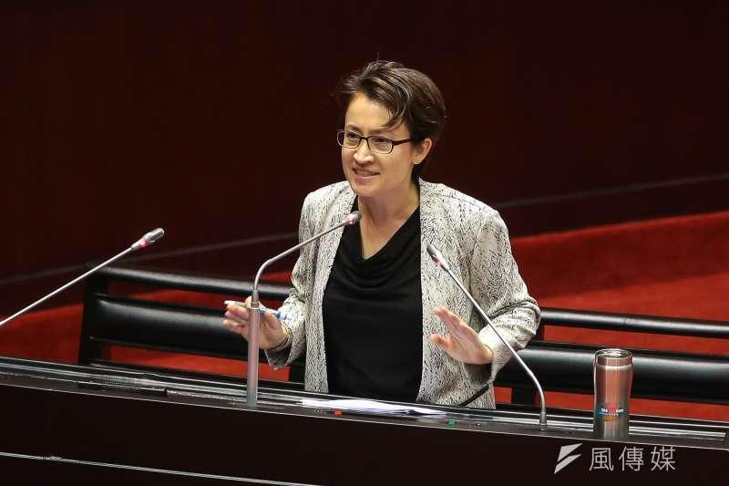 民進黨下屆立委初選登記今日下午截止,花蓮立委蕭美琴未前往登記。(資料照,顏麟宇攝)