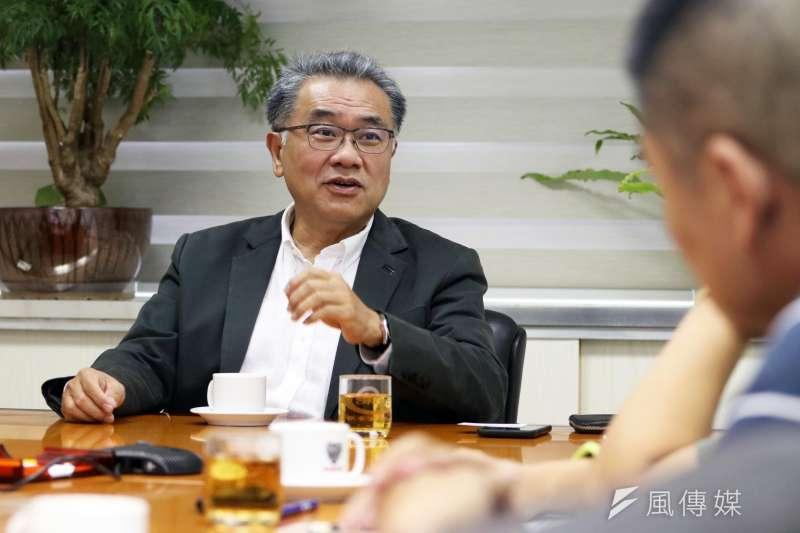 20170929-台糖董事長黃育徵專訪。(蘇仲泓攝)
