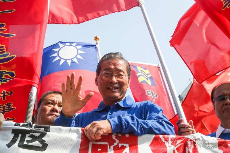蔡英文政府宣布,要追查中華統一促進黨的流流來源,如果有違反法規的情勢,有可能剝奪其政黨資格。(資料照,陳明仁攝)