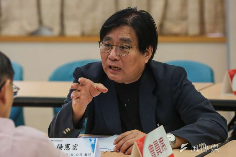 20171002-智慧行動傳播科技公司顧問楊憲宏2日出席「台灣數位科技與政策協進會」成立記者會。(顏麟宇攝)