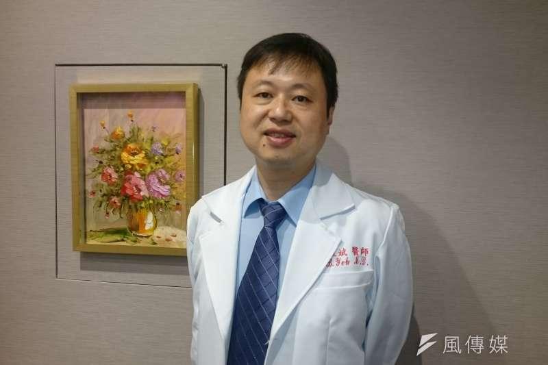 三軍總醫院精神醫學部主任葉啟斌(黃天如攝)
