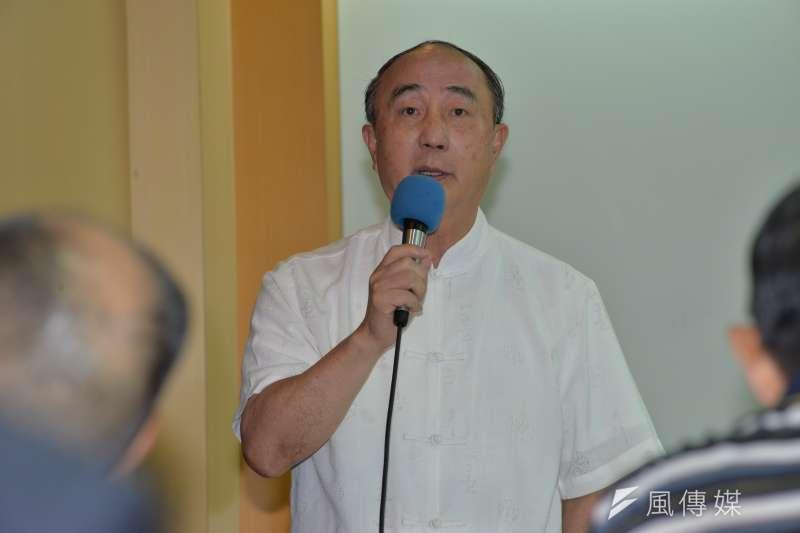 20171003-公共政策論壇記者會,胡筑生。(甘岱民攝)