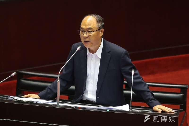20171003-國民黨立委蔣乃辛3日於立院質詢。(顏麟宇攝)