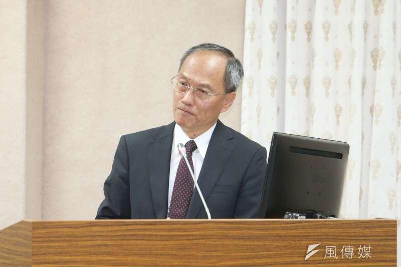 僑務委員會委員長吳新興出席立法院委員會報告並備質詢。(陳明仁攝)