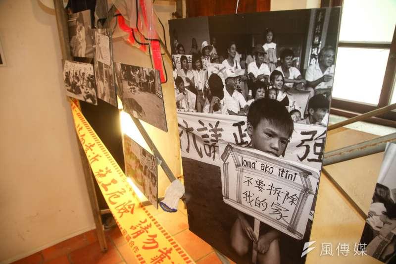 在「貧窮人的台北」展覽可見,窮人並不總像外界想像得「可憐」,他們只是在人生道路上跌一跤、需要走過難關而已。(陳明仁攝)
