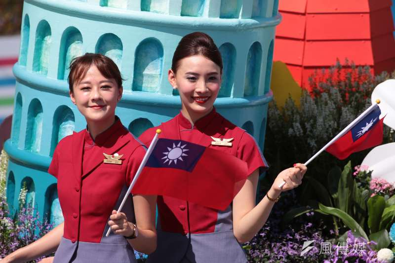 中華民國和中華人民共和國不一樣。圖為國慶活動。(顏麟宇攝)
