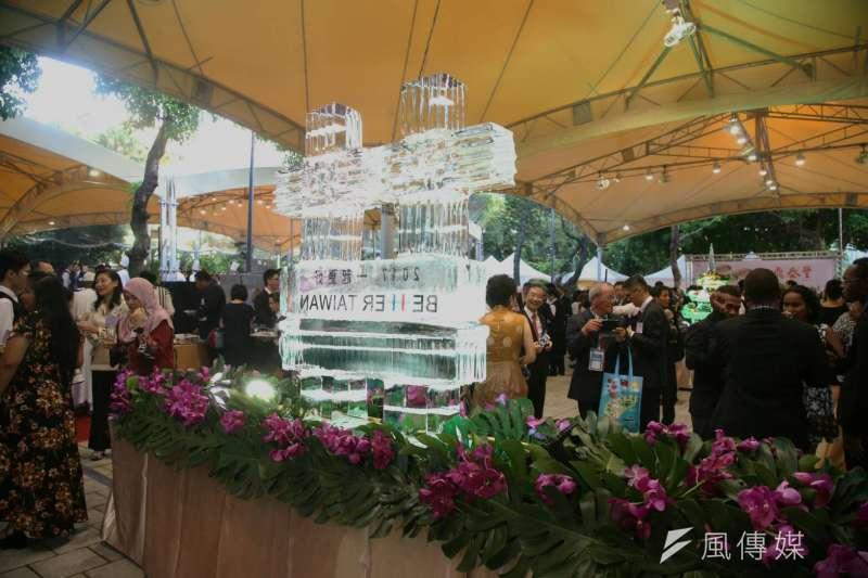20171010-國慶酒會。(陳明仁攝)