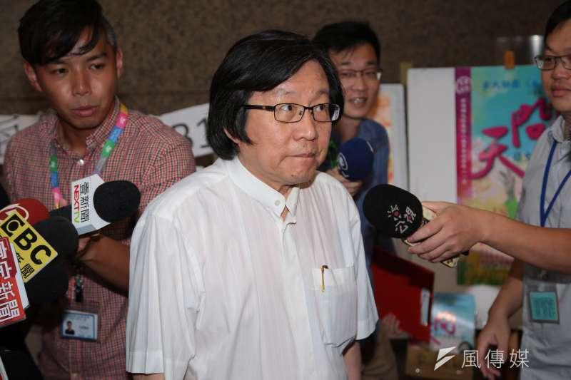 邱義仁針對台灣獨立運動的發言,在獨派掀起不小的漣漪。(資料照,顏麟宇攝)