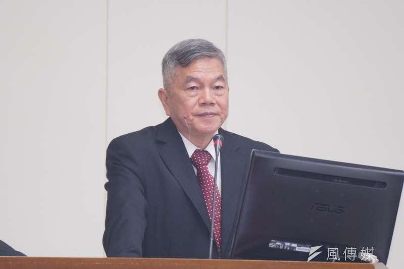 20171016-沈榮津出席經濟委員會備詢。(盧逸峰攝)