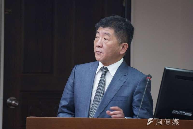 20171016-衛福部長陳時中備詢。(盧逸峰攝)