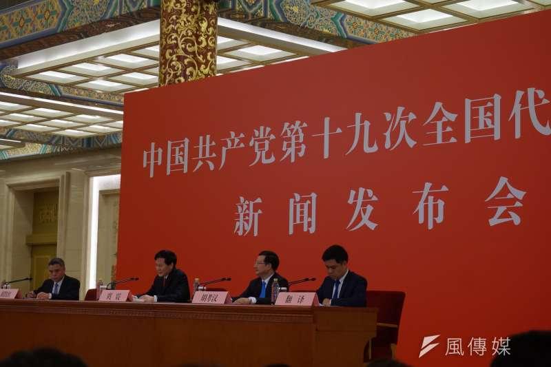 中國將繼續擴大對外開放,推出的「一帶一路」經濟大戰略,是「堅持平等協商及充分尊重各國的自主選擇,堅持不附加任何政治條件」(王彥喬攝)