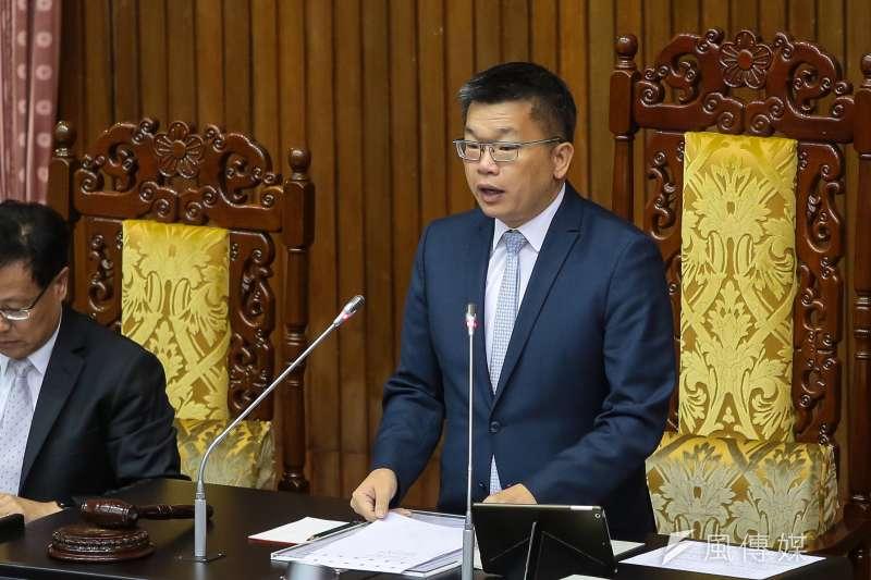 20171017-立法院副院長蔡其昌17日主持院會。(顏麟宇攝)