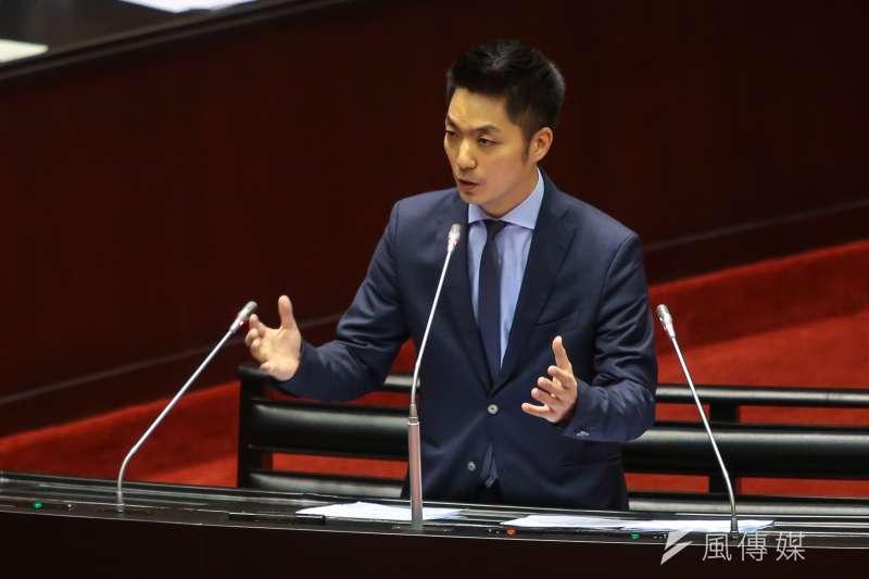 20171017-國民黨立委蔣萬安17日於立院質詢。(顏麟宇攝)