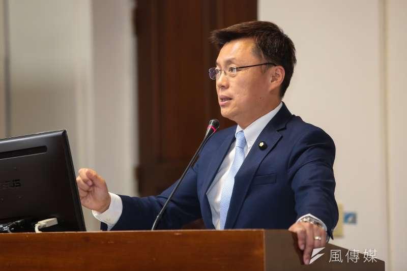 20171018-民進黨立委趙天麟18日於立院經濟委員會質詢。(顏麟宇攝)