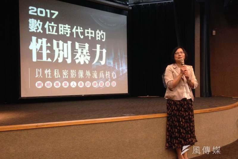 20171020-婦女救援基金會董事長黃淑玲。(蔡孟筑攝)