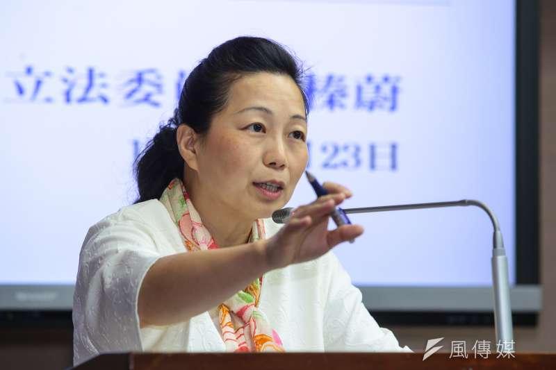國民黨徵召立委徐榛蔚選花蓮縣長。(顏麟宇攝)