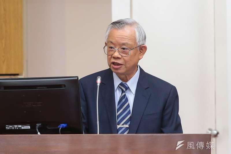 中央銀行總裁彭淮南25日至立院委員會備詢,並表示還沒有想退休的事情。(顏麟宇攝)