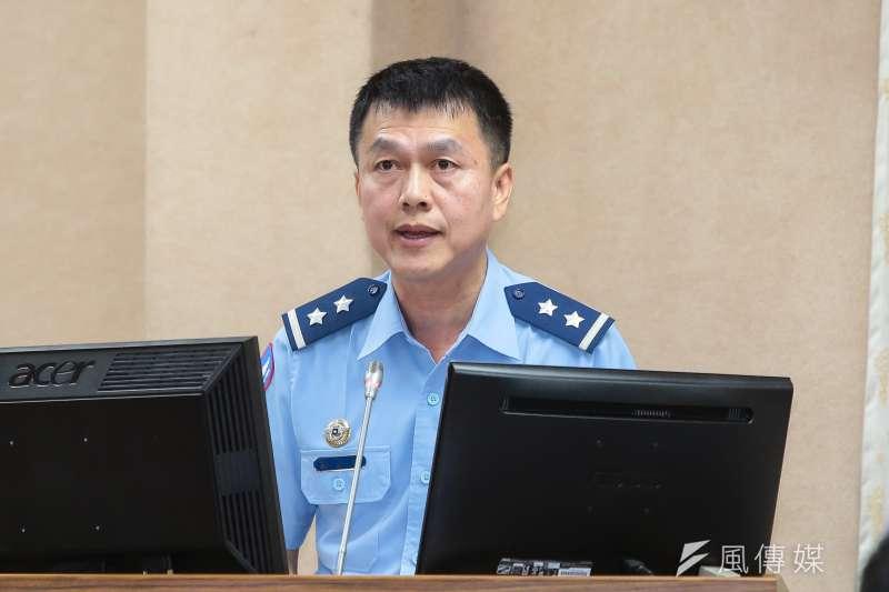 20171025-空軍參謀長鄭榮豐25日至立院委員會備詢。(顏麟宇攝)