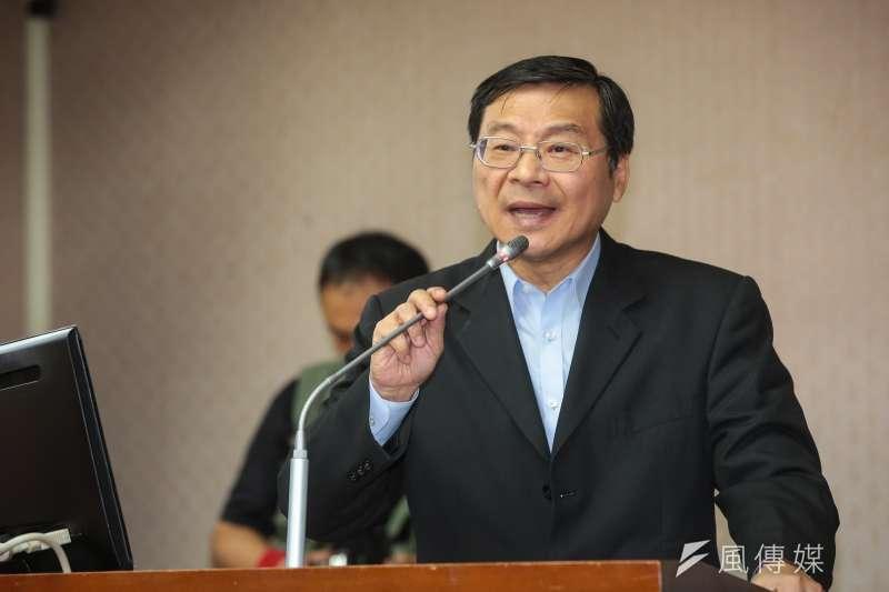 20171025-國民黨立委曾銘宗25日於立院質詢。(顏麟宇攝)