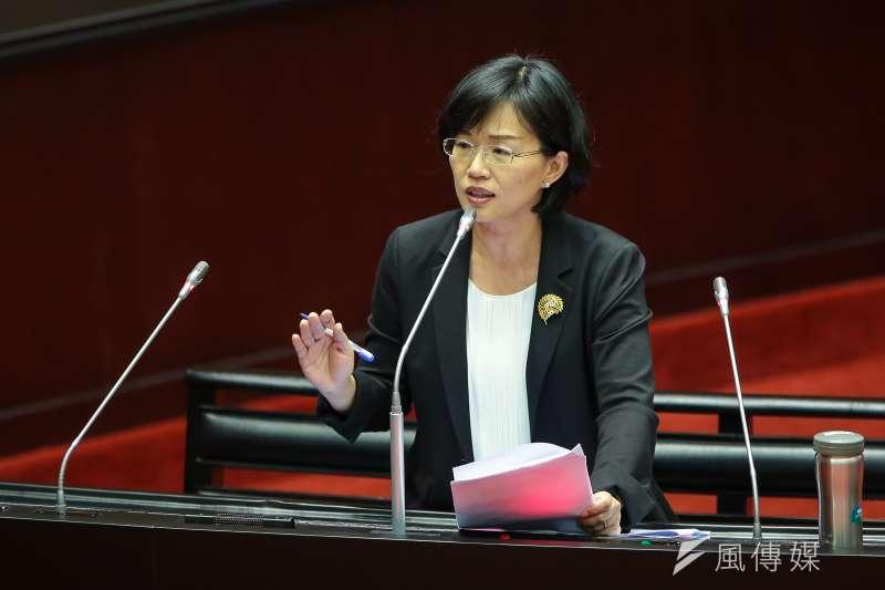 民進黨立委蘇巧慧提案將陸委會改名為中國事務委員會,並裁撤僑務委員會。(資料照,顏麟宇攝)