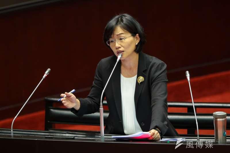 20171027-民進黨立委蘇巧慧27日於立院質詢。(顏麟宇攝)