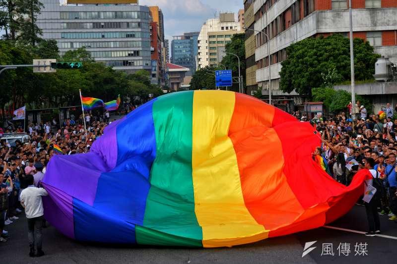 20171028-2017年台灣同志遊行Taiwan LGBT Pride,10月28日盛大登場。(甘岱民攝)