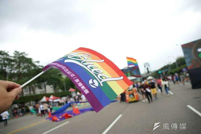 2017年台灣同志遊行Taiwan LGBT Pride,10月28日盛大登場。(盧逸峰攝)