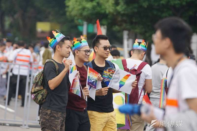 2017年台灣同志遊行Taiwan LGBT Pride,10月28日盛大登場(盧逸峰攝)
