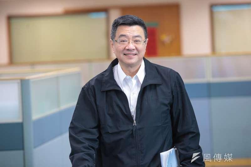 行政院秘書長卓榮泰24日出席民進黨立法院黨團會議時表示,《勞基法》修法是一件好事,只是功德還沒圓滿。(資料照,顏麟宇攝)
