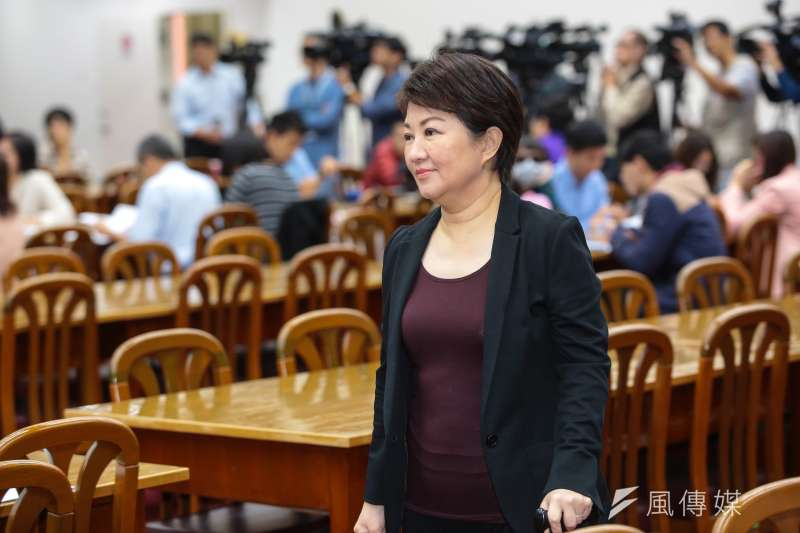 20171101-國民黨立委盧秀燕1日出席立院財政委員會。(顏麟宇攝)