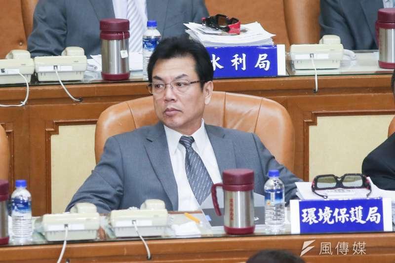 -環保局長劉和然-20171102-新北市政府局處官員。(陳明仁攝)
