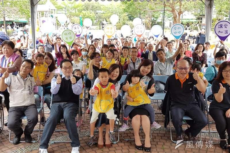 新竹市「國際身心障礙者日」系列活動2日正式熱鬧啟動。(圖/方詠騰攝)