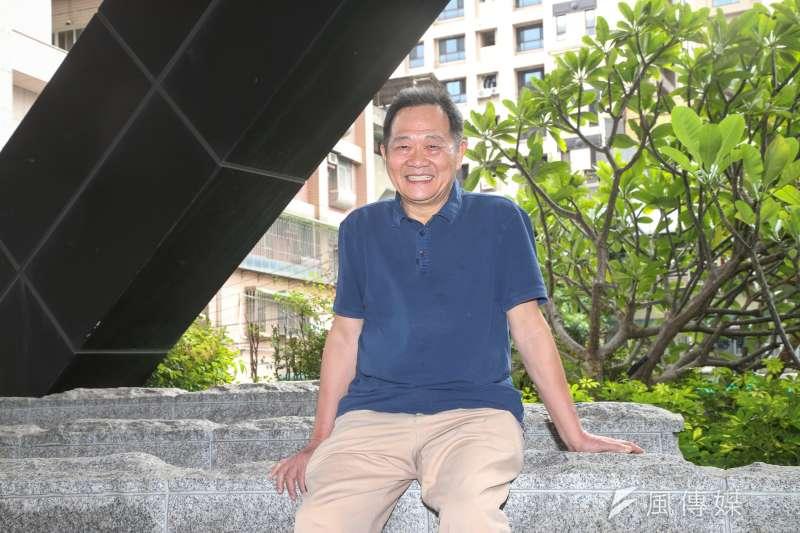 20171106-台北市長參選人、台大教授李錫錕專訪。(陳明仁攝)