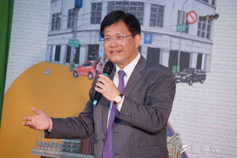 根據美麗島電子報民調,有意角逐台中市長的盧秀燕,民調緊追現任市長林佳龍之後。(資料照片,盧逸峰攝)