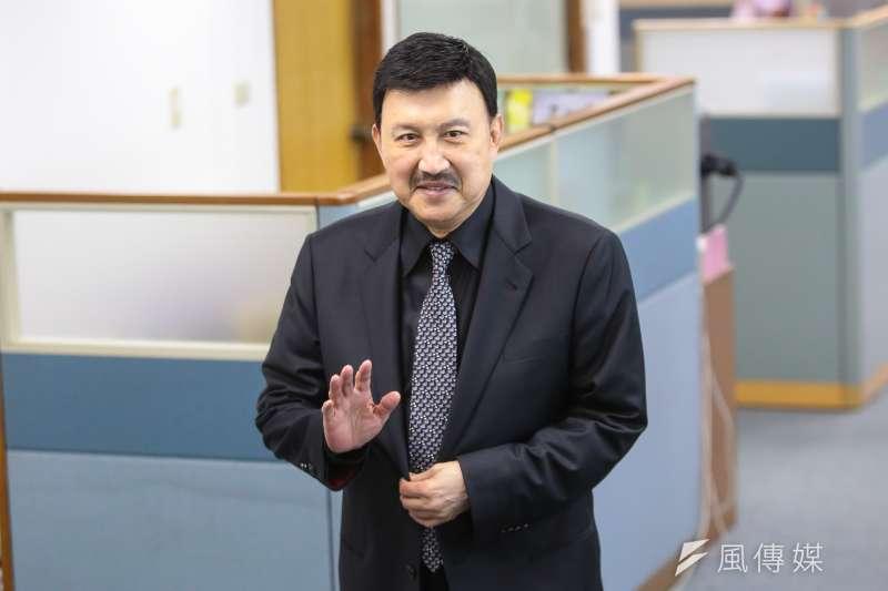20171108-新北市黨部主委余天8日出席民進黨中常會。(顏麟宇攝)